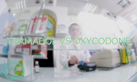 Tramadol Vs Oxycodone