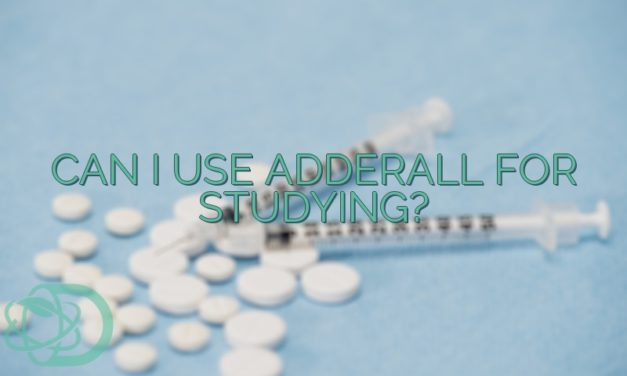 Can I Use Adderall For Studying?