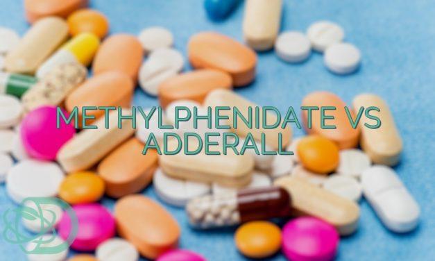 Methylphenidate Vs Adderall