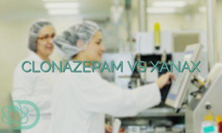 Clonazepam Vs Xanax